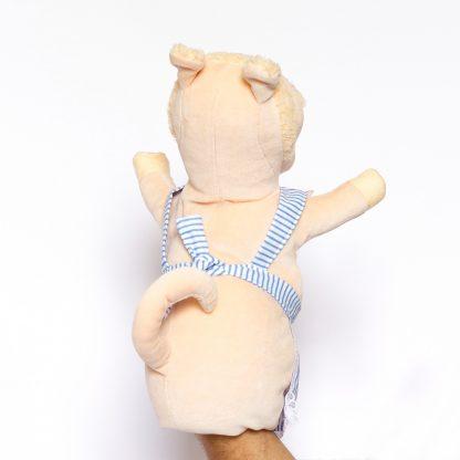 Fräulein Wutz von Urmel aus dem Eis von der Augsburger Puppenkiste - liebevoll handgemachte Handpuppe kaufen