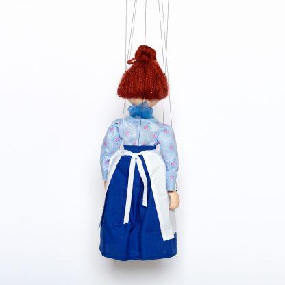 Frau Waas Rückseite aus Jim Knopf und Lukas der Lokomotivführer - Augsburger Puppenkiste Marionette handgemacht kaufen