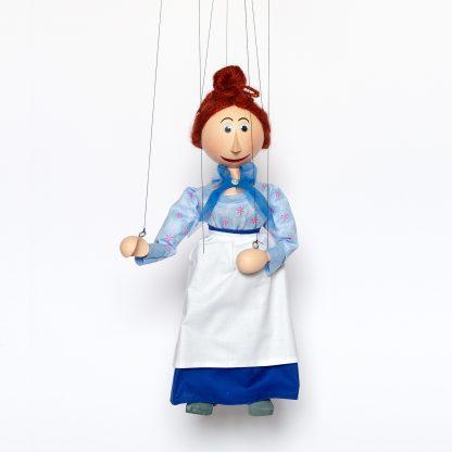 Frau Waas aus Jim Knopf und Lukas der Lokomotivführer - Augsburger Puppenkiste Marionette handgemacht kaufen