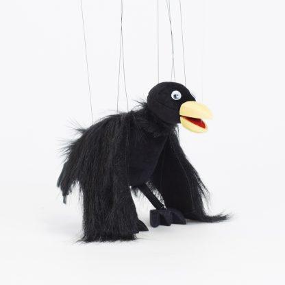 Hofkraehe Lukulla von der Augsburger Puppenkiste - liebevoll handgemachte Marionette kaufen