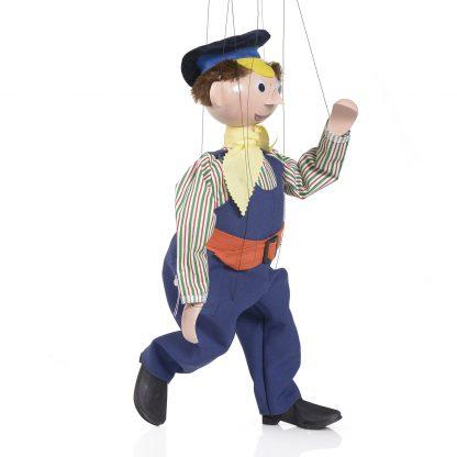 Lukas der Lokomotivfuehrer von der Augsburger Puppenkiste - liebevoll handgemachte Marionette kaufen