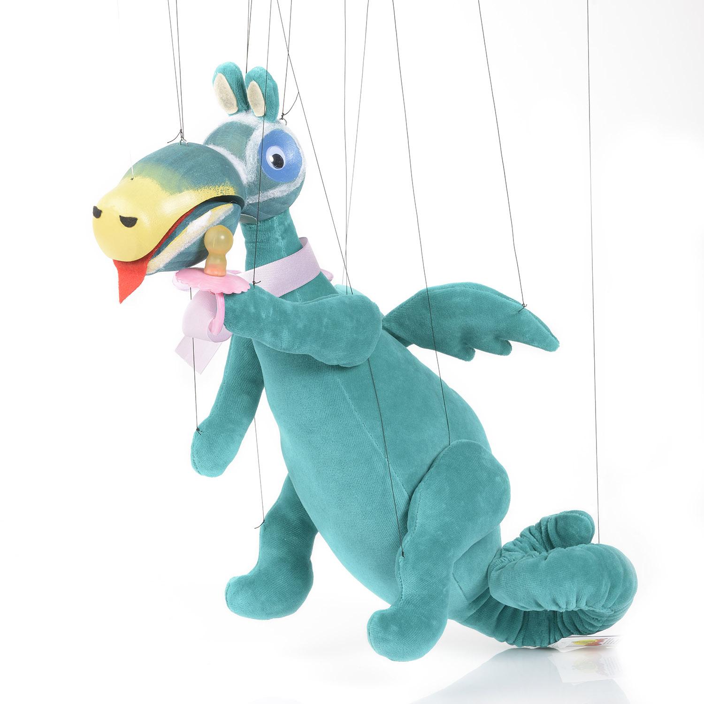 Augsburger Puppenkiste Marionette Wutz aus Urmel aus dem EIS