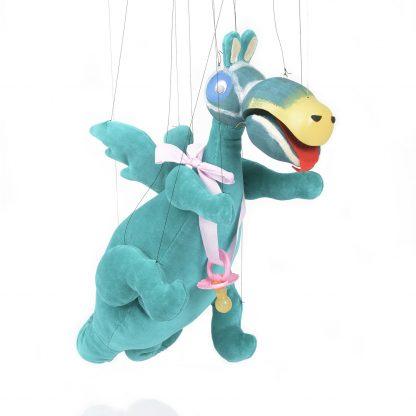 Urmel aus dem Eis von der Augsburger Puppenkiste - liebevoll handgemachte Marionette kaufen