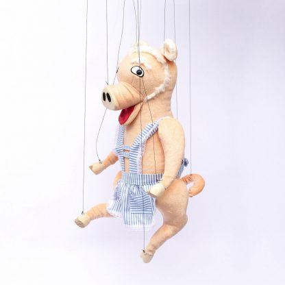 Fräulein Wutz von der Augsburger Puppenkiste - liebevoll handgemachte Marionette kaufen